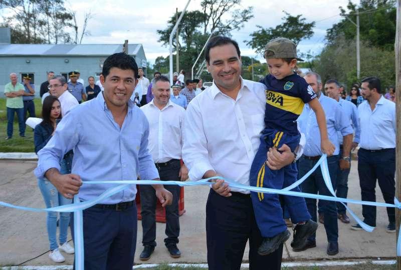 """Valdés. """"Tenemos que incrementar la producción en Tapebicuá para generar más puestos de trabajo"""""""
