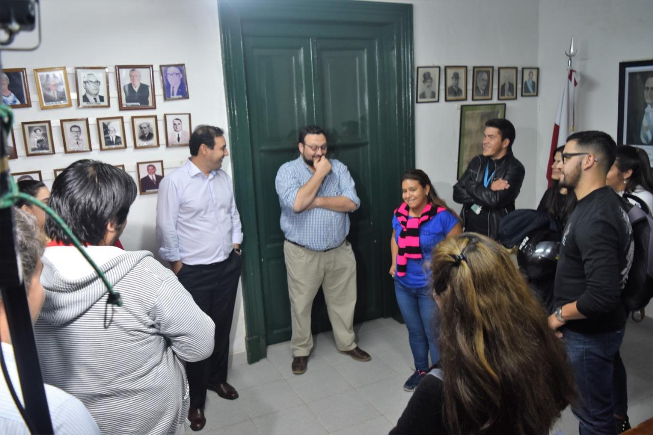 Los candidatos a concejales de ECO recibieron la visita del Gobernador