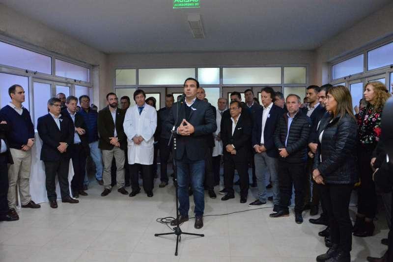 Valdés inauguró en Paso de los Libres el sector de Neonatología del Hospital San José y un CAPS en el Paraje El Palmar