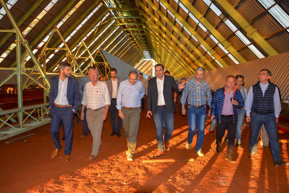 """Valdés. """"Virasoro tendrá la planta de tratamiento de biomasa más grande de Argentina"""""""