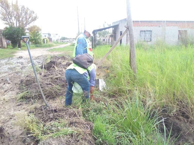 Cuadrillas municipales intensifican tareas preventivas por las lluvias