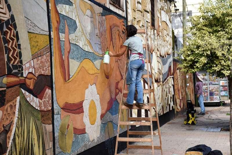 La Municipalidad ya recuperó 43 murales en diferentes zonas de la ciudad
