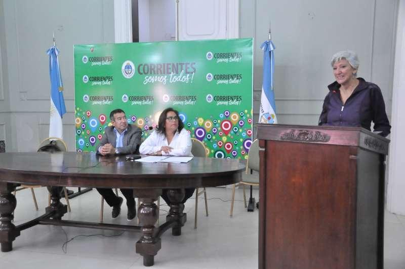 Presentación oficial de una nueva edición de los Juegos Culturales Correntinos