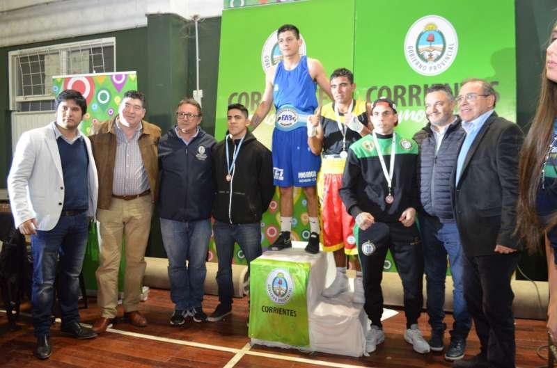 Se cerró en el Albergue Deportivo el Torneo Nacional de Mayores de Boxeo