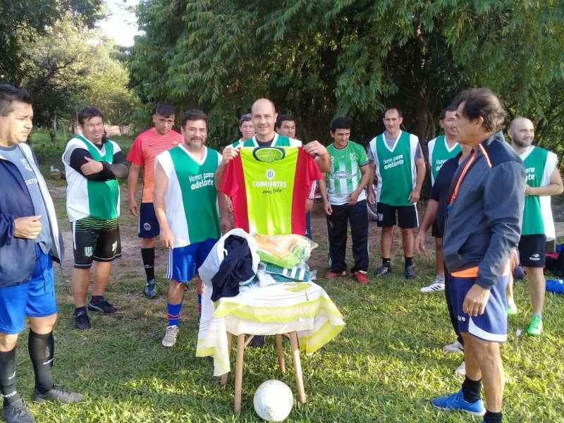 En el Barrio Ponce se organizó Torneo de Fútbol para Veteranos