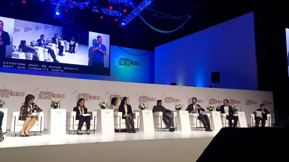 El COPRODIS participó de la 2º Cumbre Global de Discapacidad