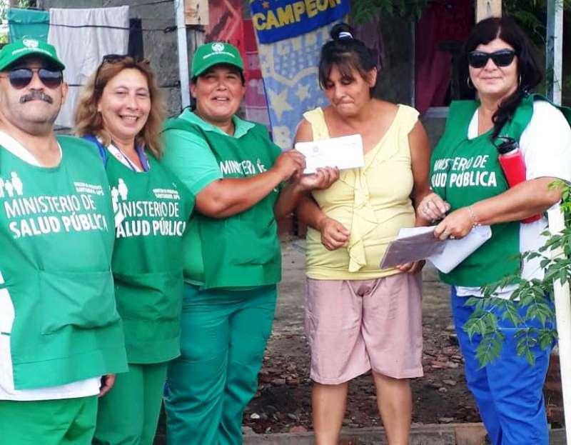 Trabajo en terreno en cuatro barrios de la ciudad acercando servicios de salud a la comunidad