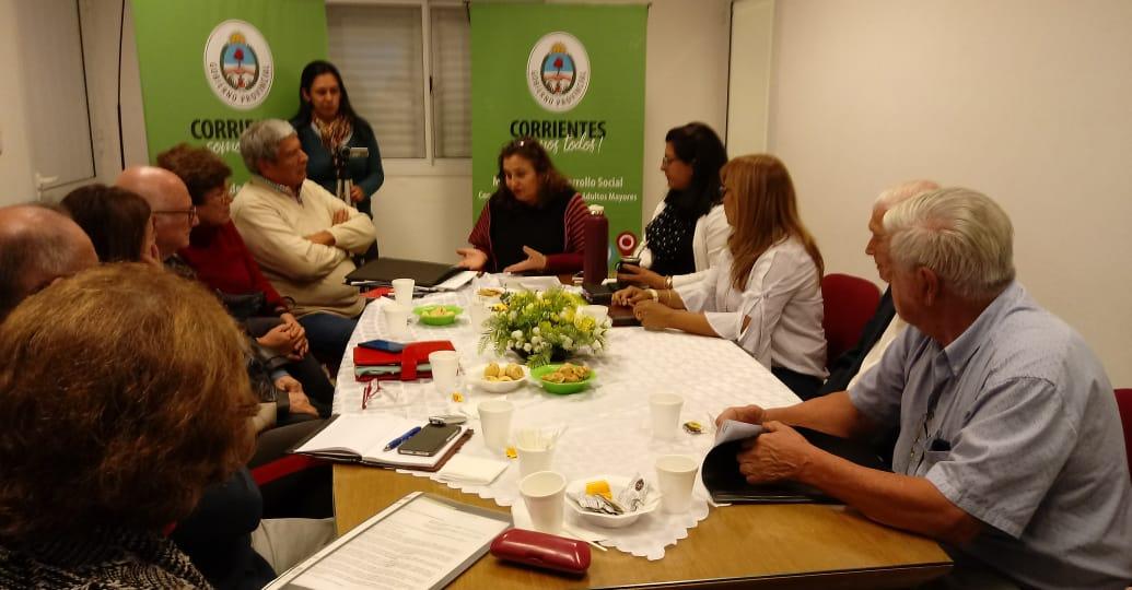 Se avanza con la creación del Consejo Provincial del Adulto Mayor
