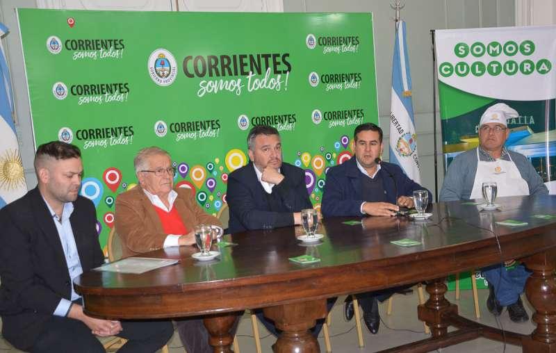 El Gobierno presentó la 12° edición del Festival del Locro Curuzucuateño
