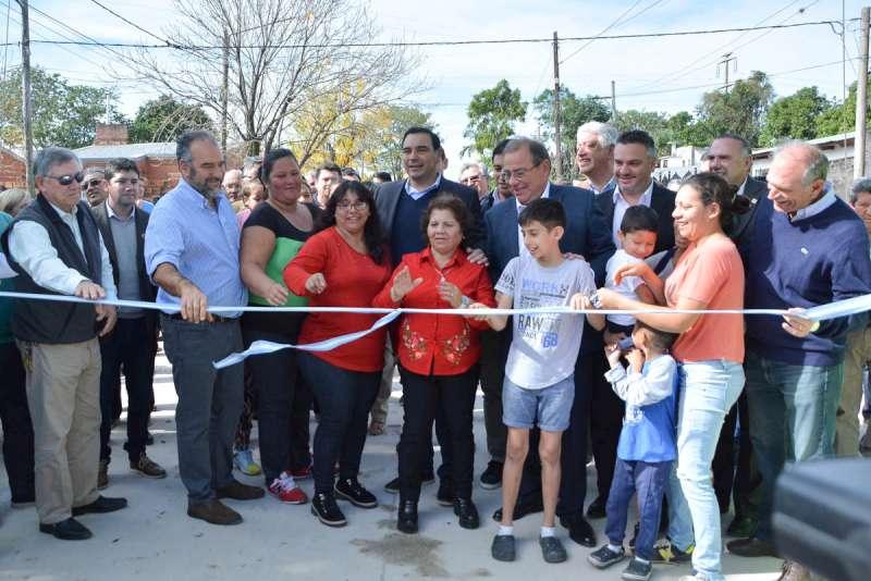 La Provincia y el Municipio trabajan juntos para mejorar la calidad de vida de los vecinos