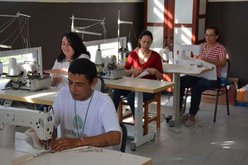 Un emprendimiento textil nació para generar oportunidades laborales en un barrio
