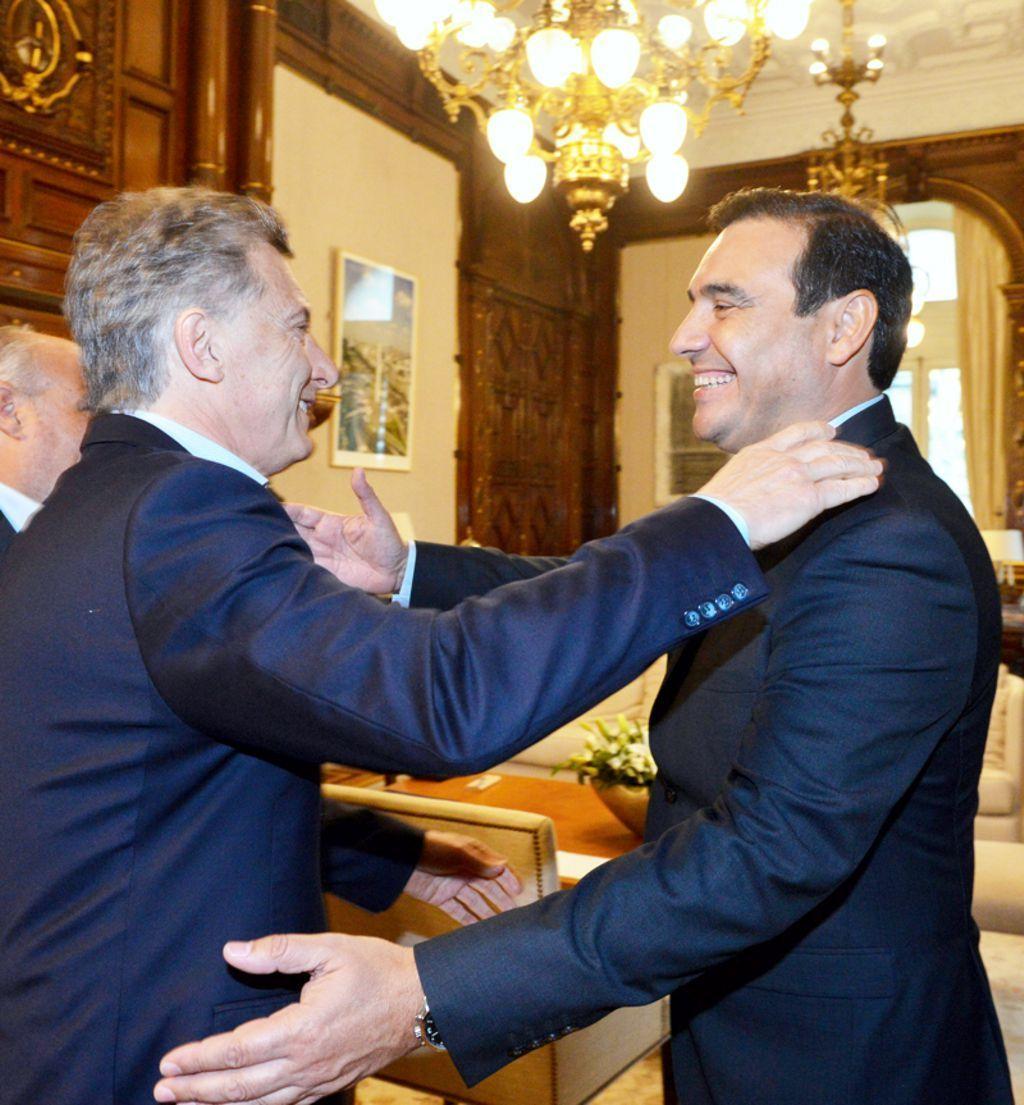 Invitado por Macri, el gobernador Valdés asistirá a la recepción al presidente de Brasil, Jair Bolsonaro
