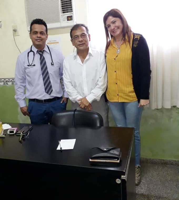 Cardozo. «La población que recibió a los médicos venezolanos está muy conforme»