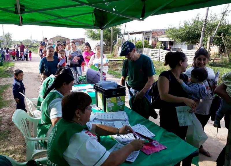 La Provincia llevó servicios de salud al barrio Santa Rita