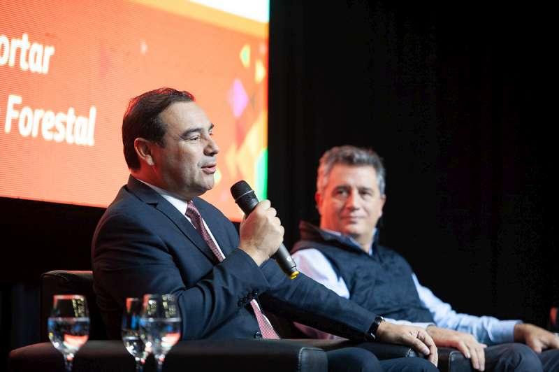 Valdés aseguró que la Provincia invierte en logística para favorecer las exportaciones Foresto Industriales