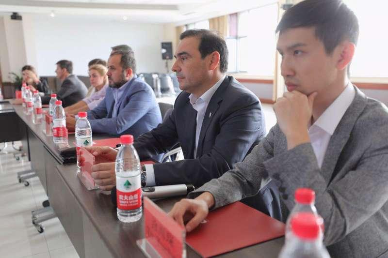 Valdés continúa en China con el objetivo de posicionar a Corrientes en el mundo
