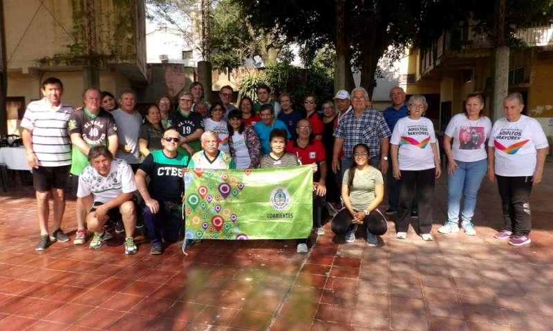 """""""Juegos Correntinos 2019"""", Capital fue sede del Zonal 6 de Adultos Mayores"""
