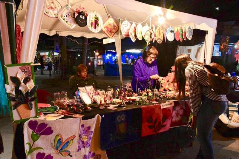 La Feria Artesanal de Invierno se despide con shows y destacados productos manufacturados