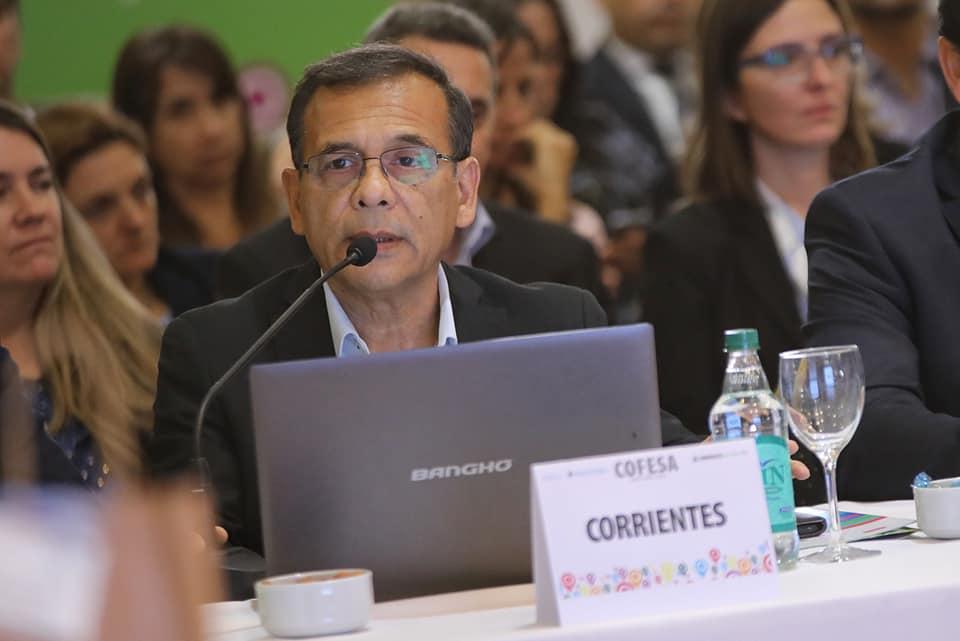 Cardozo presentó las obras de infraestructura sanitaria de la provincia