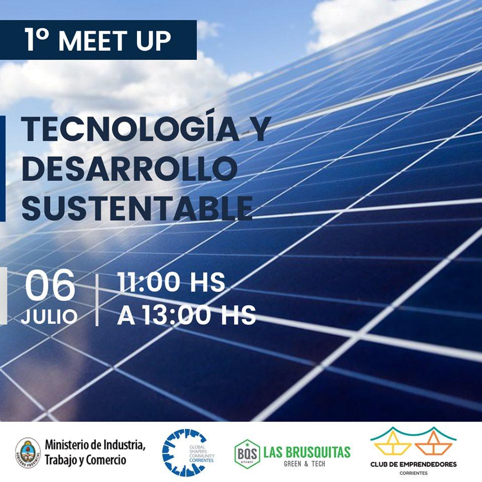 Invitan a un encuentro para proyectar soluciones sustentables a través de la tecnología