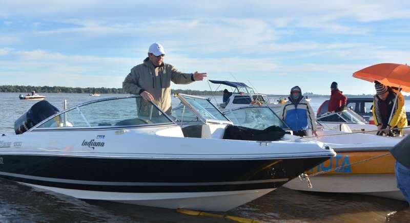 Valdés participó del 23º Concurso Integración de Pesca del Surubí en Ituzaingó
