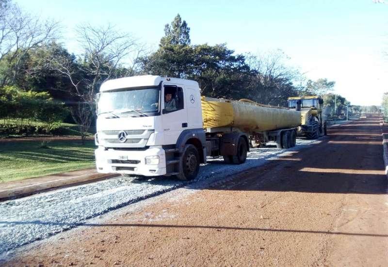 La Provincia recupera y repavimenta el acceso de la ciudad de San Carlos