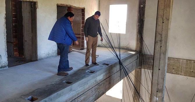 Schiavi verificó avances en la obra del futuro parque tecnológico de Corrientes