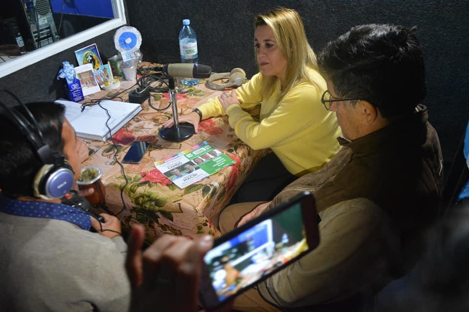 Vara y Benítez recorren el interior con el mensaje del desarrollo provincial