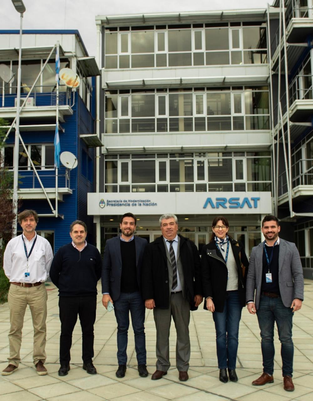 Conectividad: el Gobernador aprobó el directorio de TELCO y junto a ARSAT avanzan en la infraestructura
