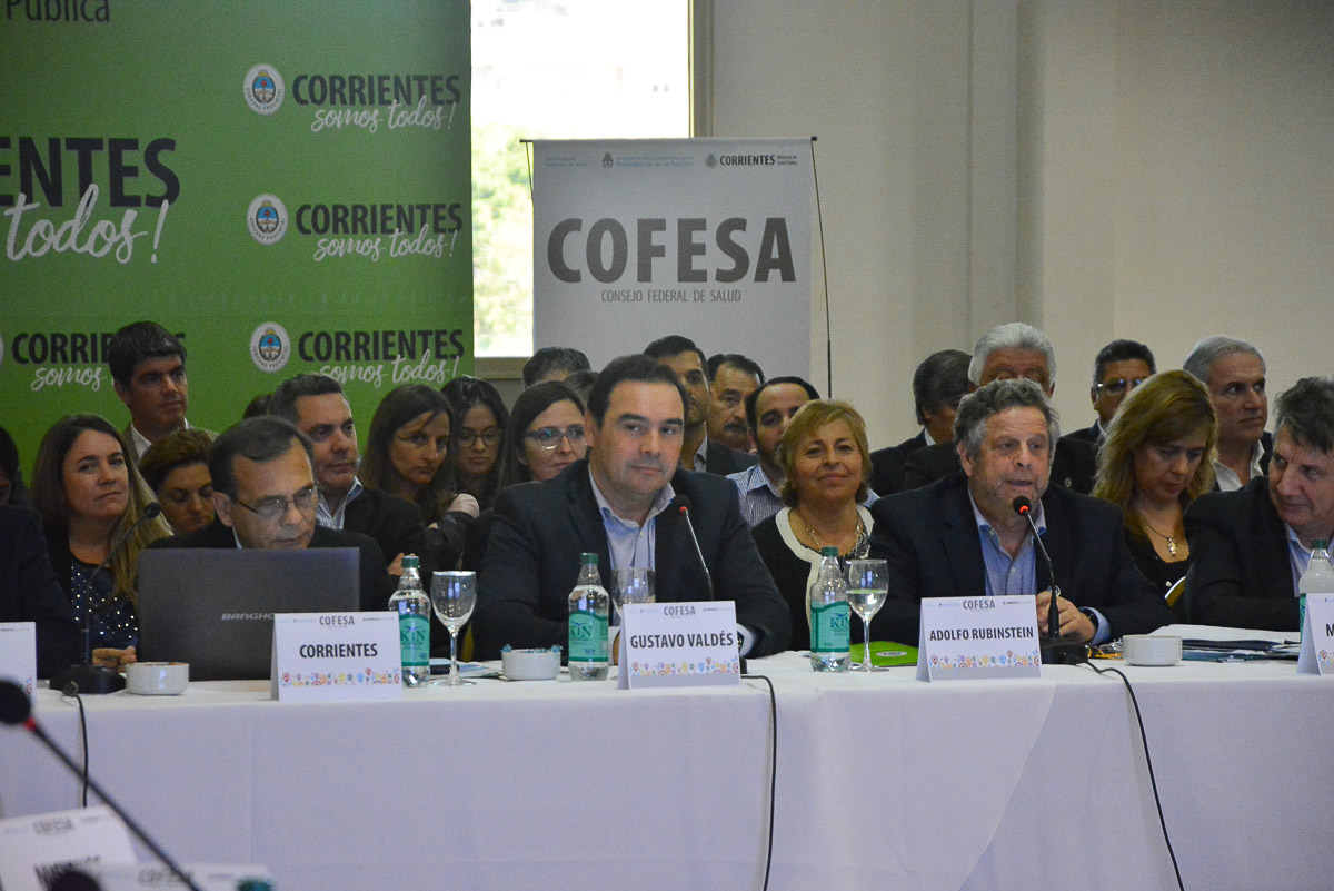 Valdés aseguró en la apertura del COFESA, que estos espacios sirven para «plantear un país federal»