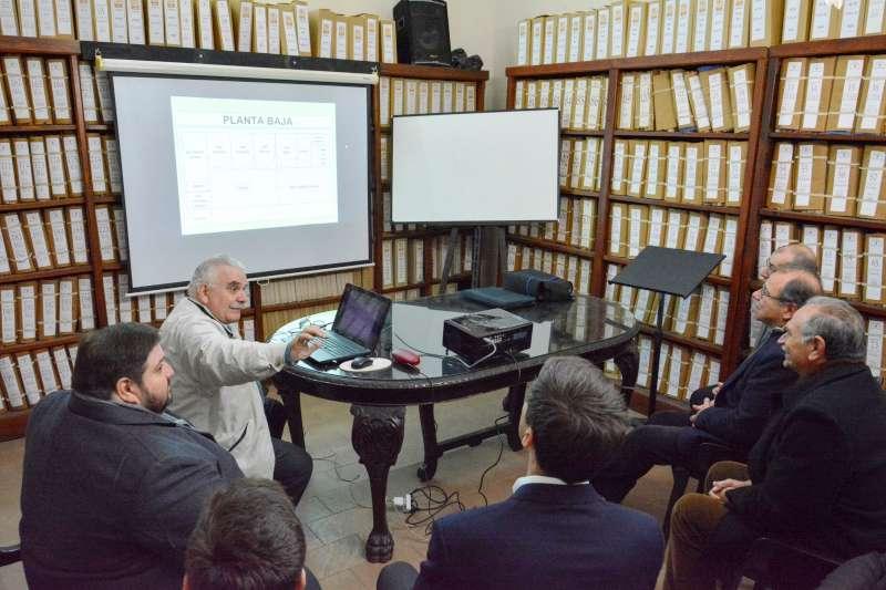 Tassano ratificó el apoyo municipal al XX Congreso de Historia de la Provincia
