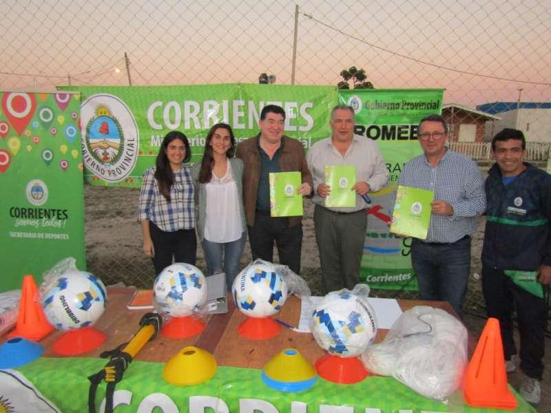Escuela de Iniciación Deportiva en el Barrio Irupé