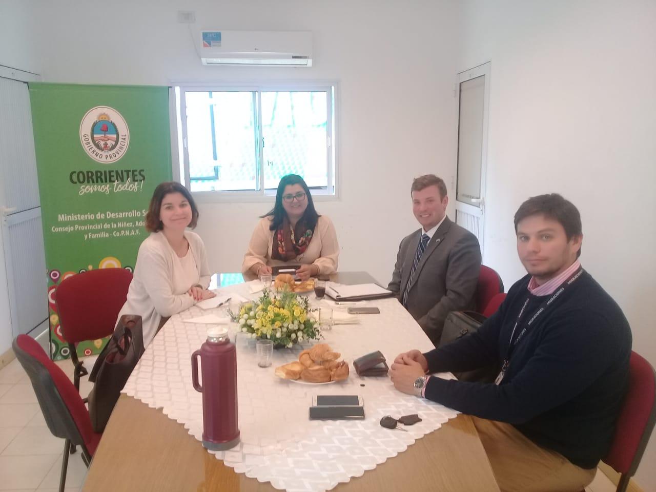 El COPNAF se reunió con representantes de la Embajada de EEUU