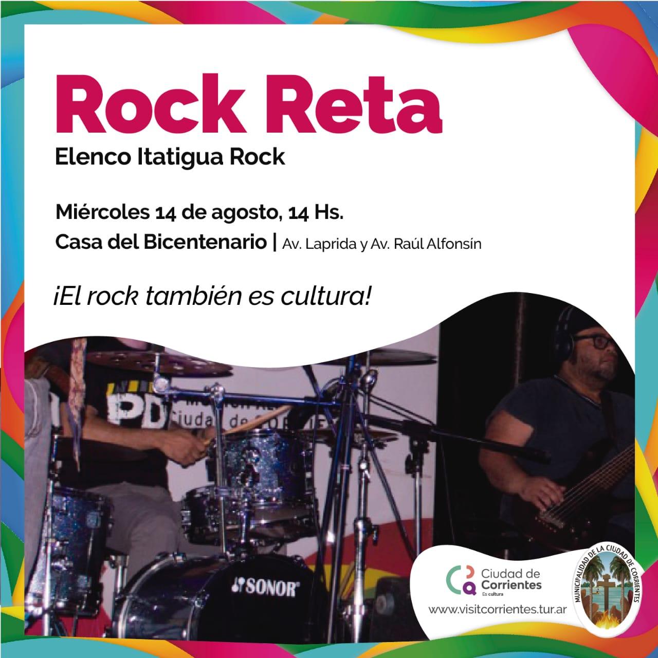 Rock Reta, una propuesta musical inclusiva en Casa del Bicentenario
