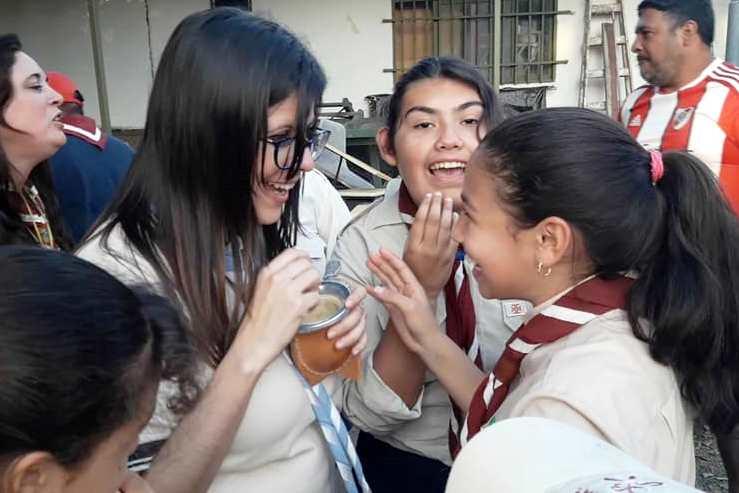 """Marina Rustán. """"El Movimiento Scout nos ayuda a fortalecer valores en las personas"""""""