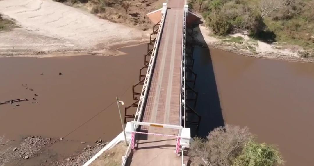 Tras su refacción integral desde mañana el puente Pexoa estará habilitado