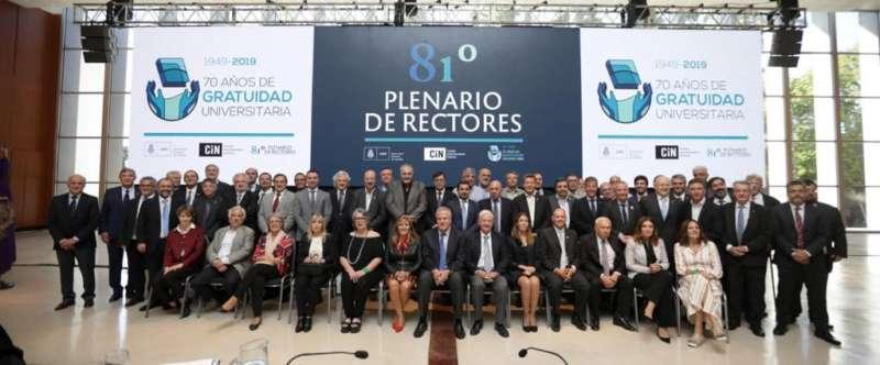 La UNNE recibe a rectoras y rectores de las universidades nacionales para el 82 Plenario del CIN