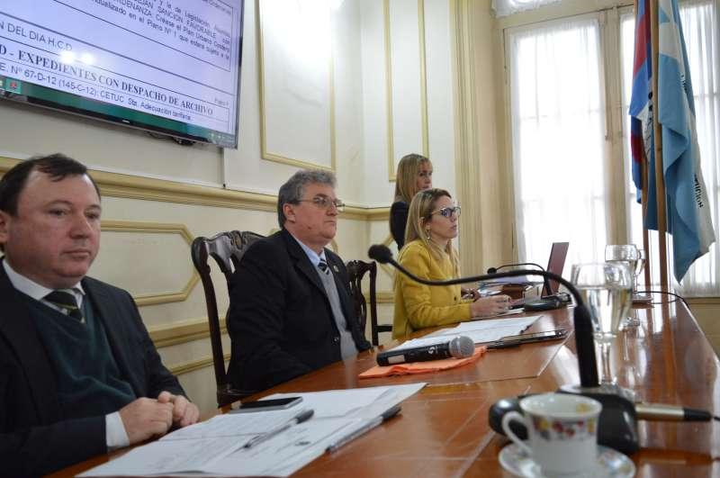 En la 18° sesión, el HCD avanzó con comunicaciones relacionadas a diferentes sectores de la ciudad
