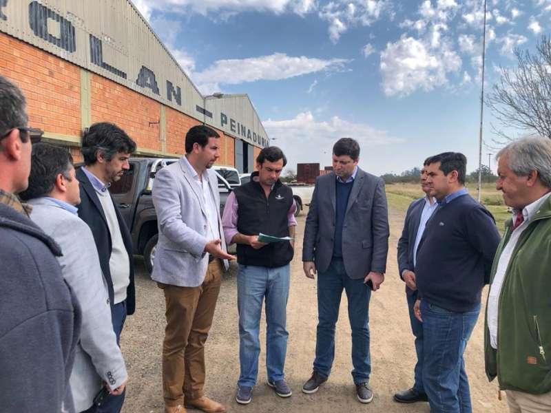 Schiavi se comprometió a agilizar la compra del terreno para el parque industrial de Curuzú Cuatiá