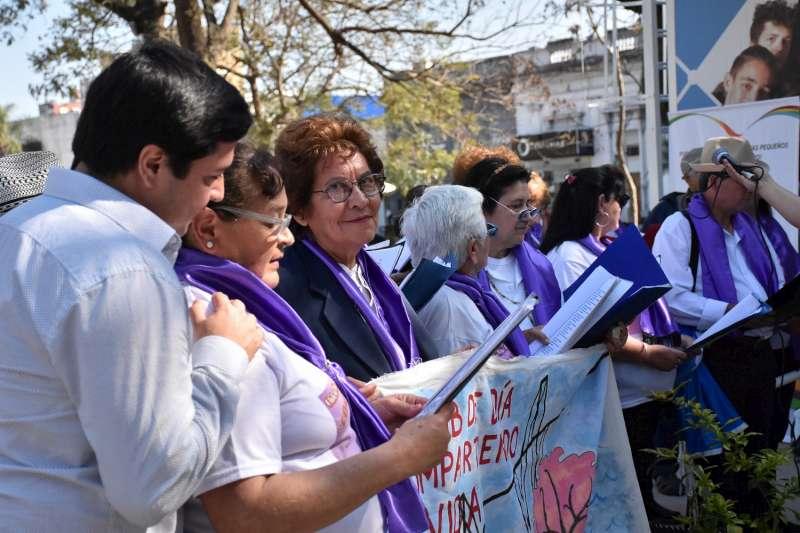La municipalidad cerró el Mes de la Lactancia Materna con una caminata por Junín