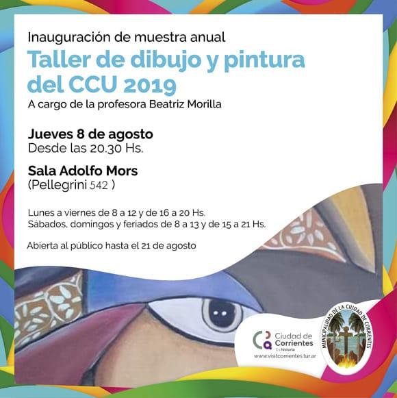 Muestra anual de arte de los alumnos del Centro Cultural Universitario
