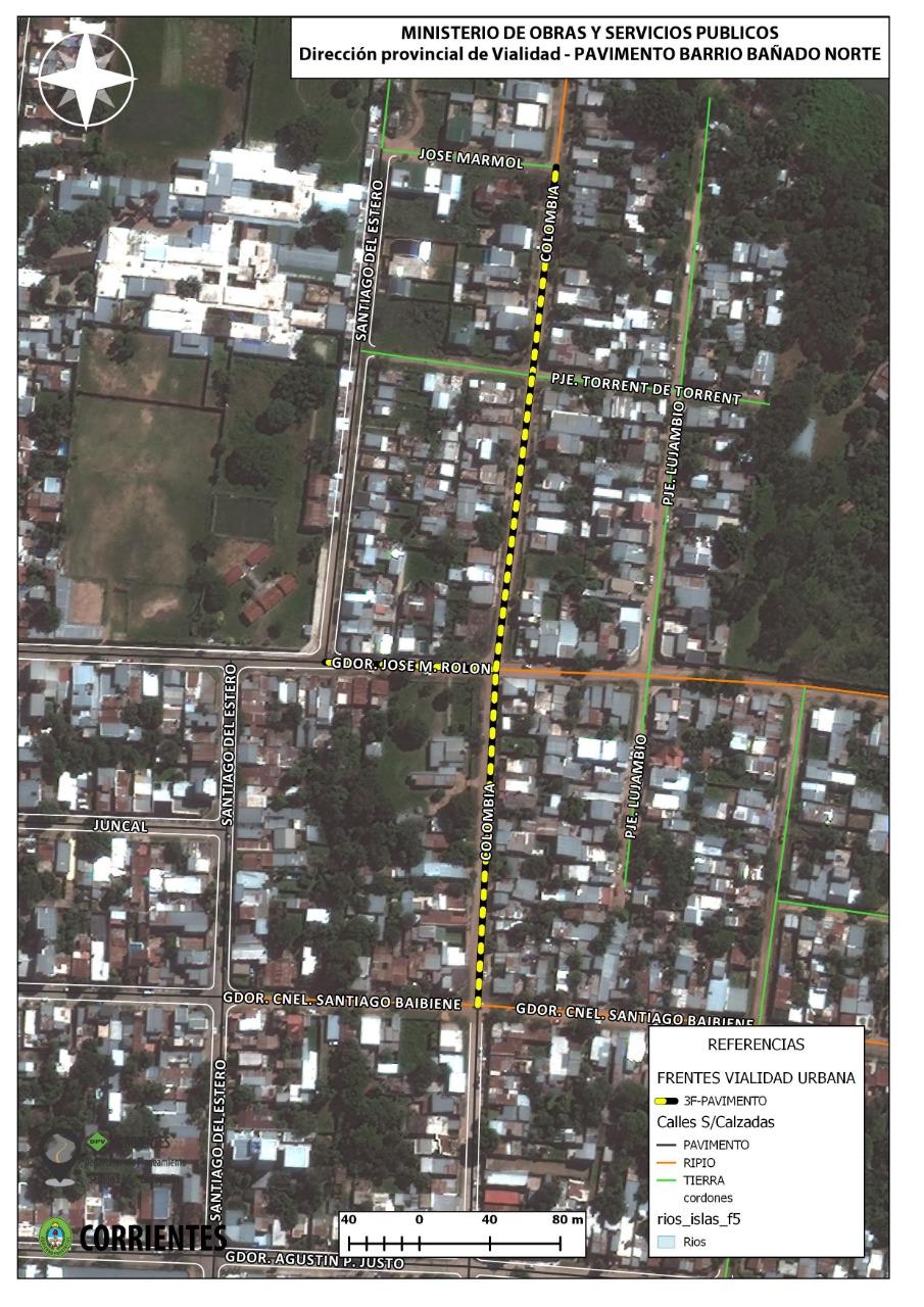 Arrancan las obras de pavimento de la calle Colombia