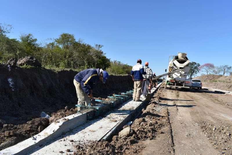 La Provincia completó el primer tramo del acceso Este al Parque Industrial de Corrientes