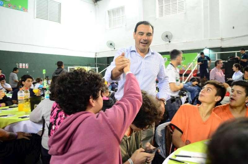 El Doctor Gustavo Valdés abrió la cuarta fase provincial de los Juegos