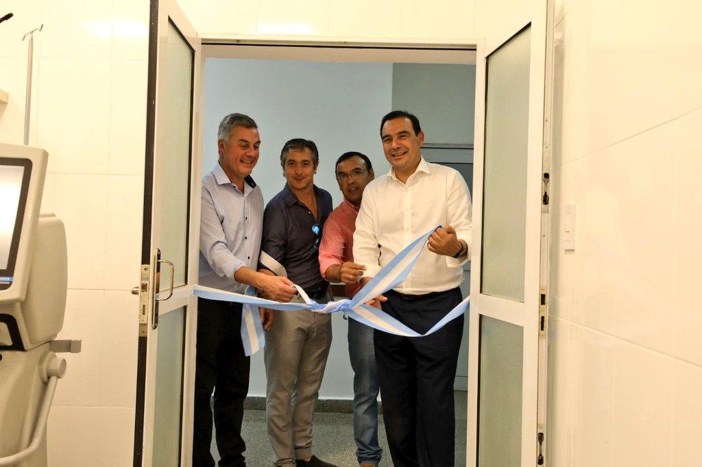 """El Hospital """"El Salvador"""" cuenta con una nueva sala de Terapia Intensiva y los sectores de Maternidad y Pediatria totalmente renovados"""