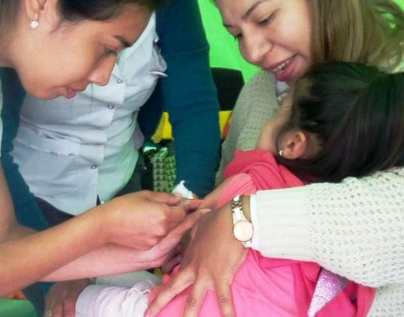 Salud continúa con las acciones para prevenir Sarampión