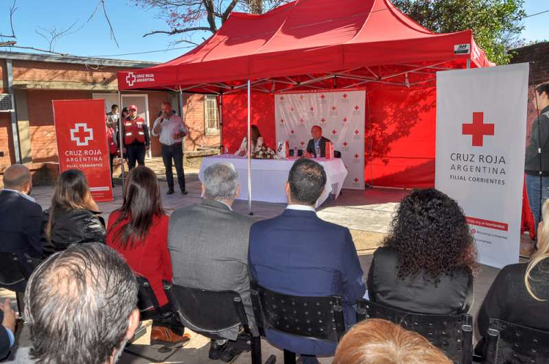 La Provincia inauguró obras de ampliaciones en el Centro Integral de la Cruz Roja