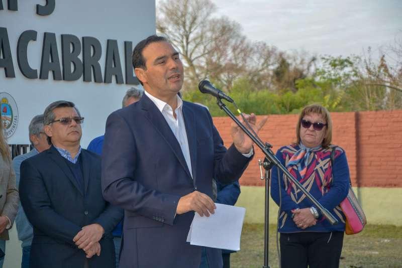 En Colonia Cabral, Valdés apostó a una fuerte inversión a la salud pública, la producción y al trabajo