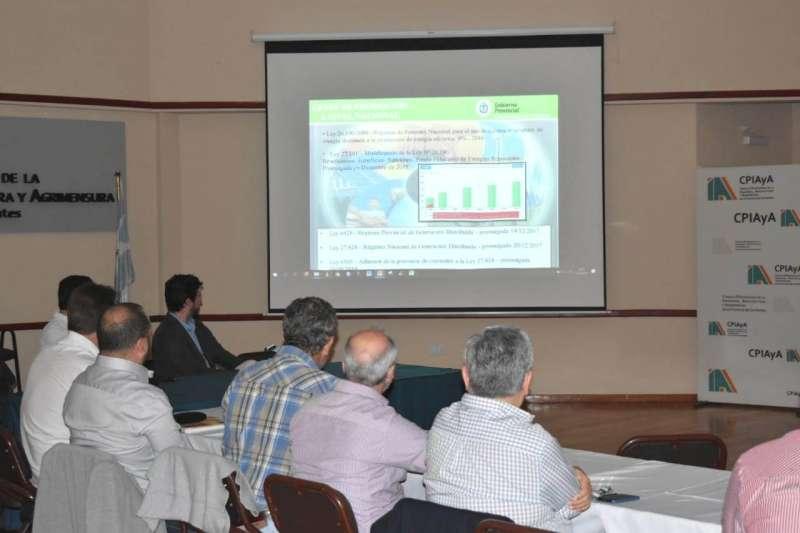 Se realizó el taller para tratar aspectos de la Ley de Generación Distribuida en Corrientes