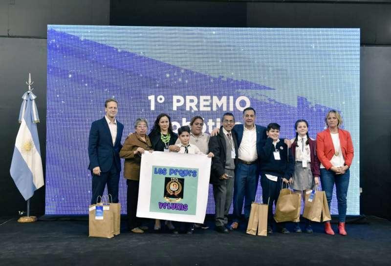 Macri recibe a los alumnos de la Escuela Belgrano y la Provincia destaca el impulso a la innovación tecnológica desde Educación